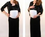 Bandeau femme enceinte Froncé Blanc