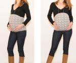 Bandeau femme enceinte Froncé Fleurs