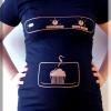 Tee-shirt de grossesse original «patisserie»