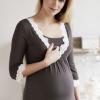 Chemise de nuit de grossesse et d'allaitement Amoralia