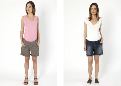 shorts femme enceinte