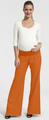 pantalon de grossesse orange pomkin