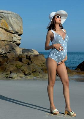 maillot de bain femme enceinte une pièce