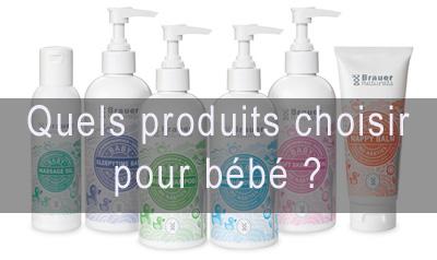 produits soins bébés